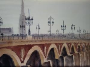 Aquarelles Bordeaux