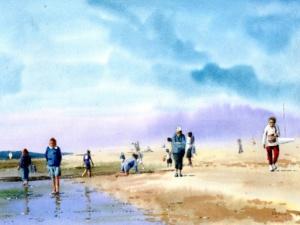 La plage du Moulleau Arcachon