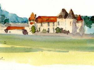 Chateau» d'Yquem» à Sauternes