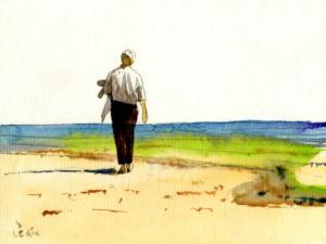 «Seul -plage «
