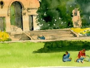 «Jardin public»
