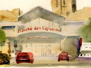 «Marché des Capucins»