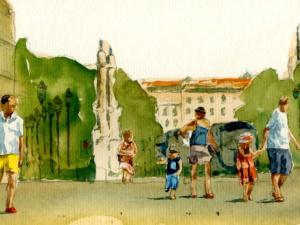 «Place de la Bourse»