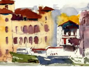 «Port Saint-Jean-de-Luz » Pays Basque nu°28
