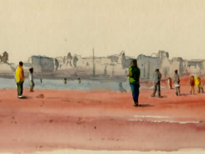 «Essaouira sur la plage»