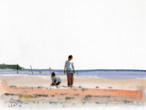 «Château de sable» Plage du Moulleau